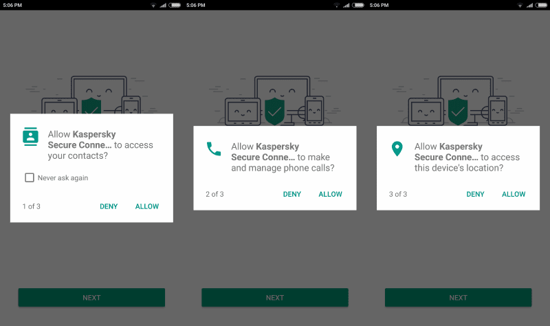 Kaspersky launches information hungry VPN app for Android
