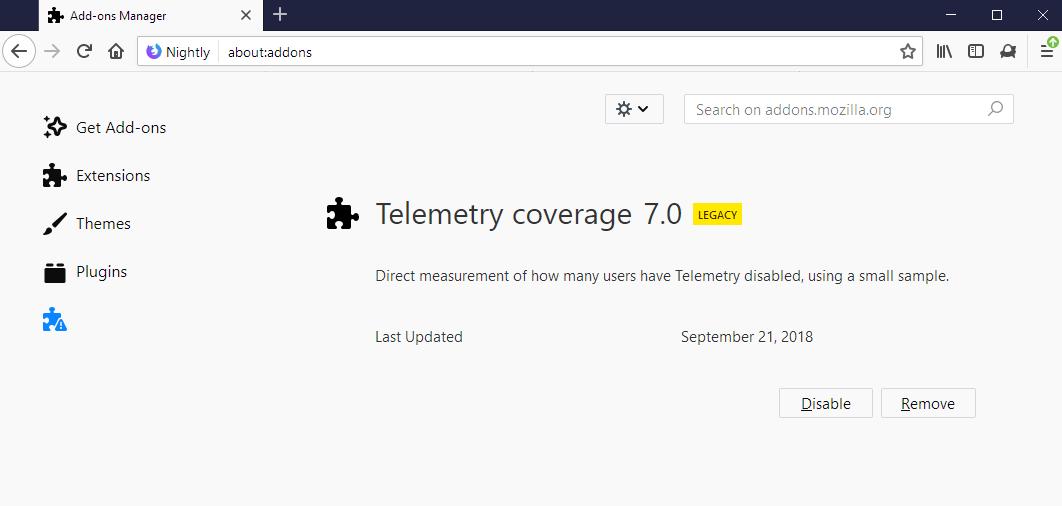 telemetry coverage
