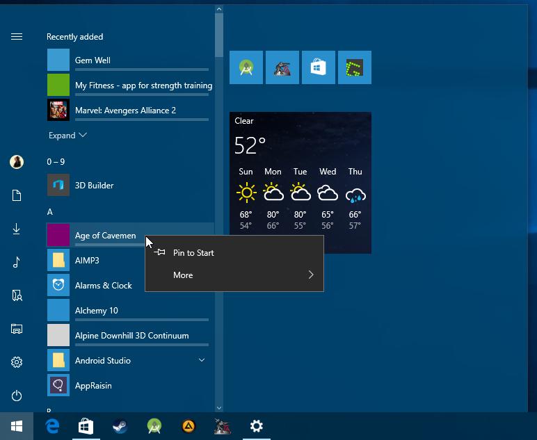 windows 10 stuck update download