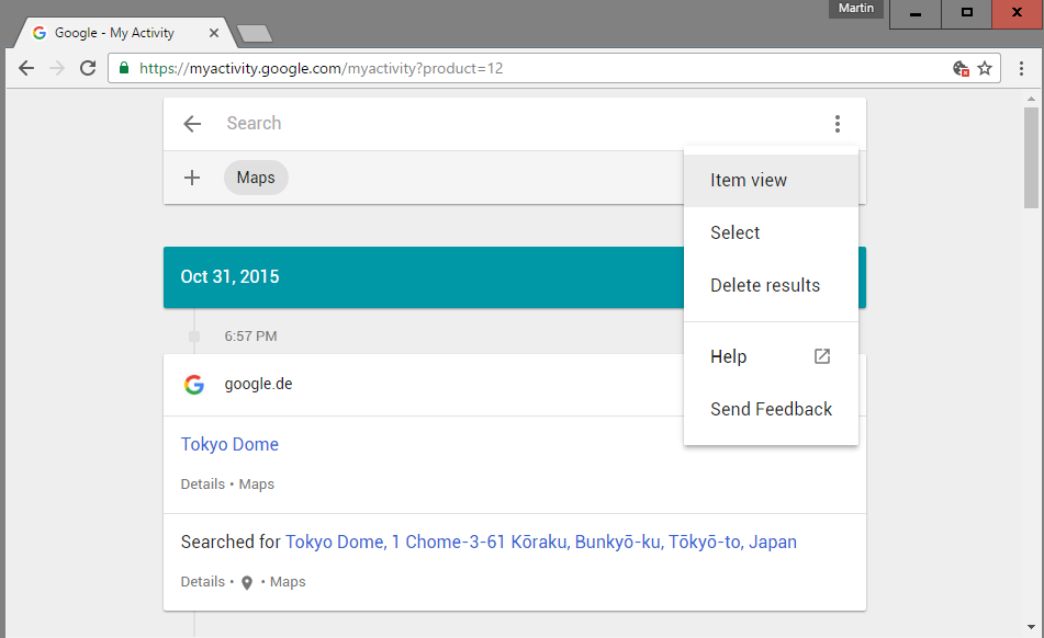 My Activity reveals how much Google knows about you | ComTek