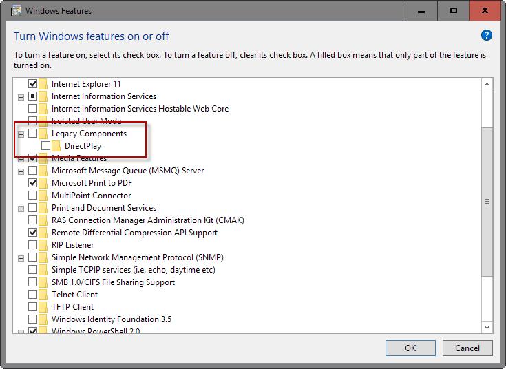 Turn off Windows 10 Features   ComTek Computer Services Inc