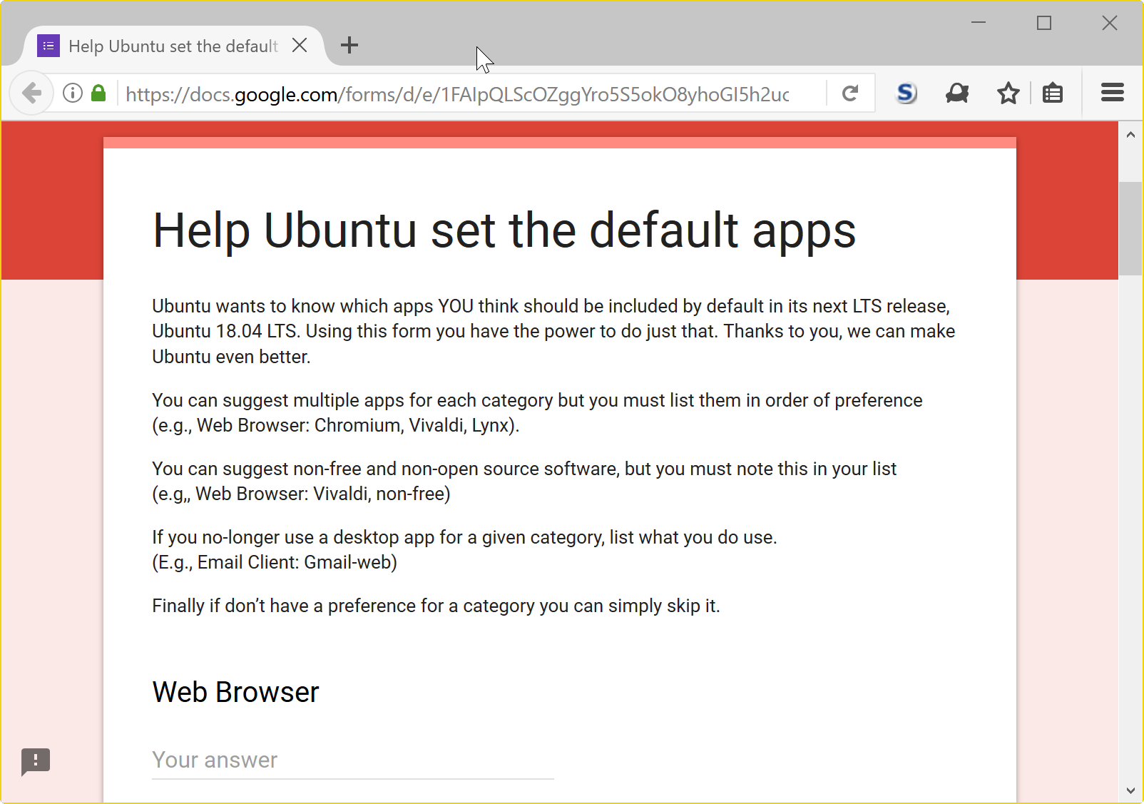 ubuntu default apps