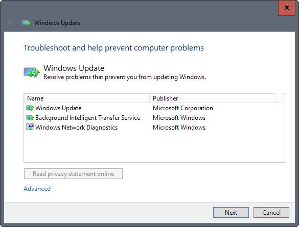 fix windows update windows 10